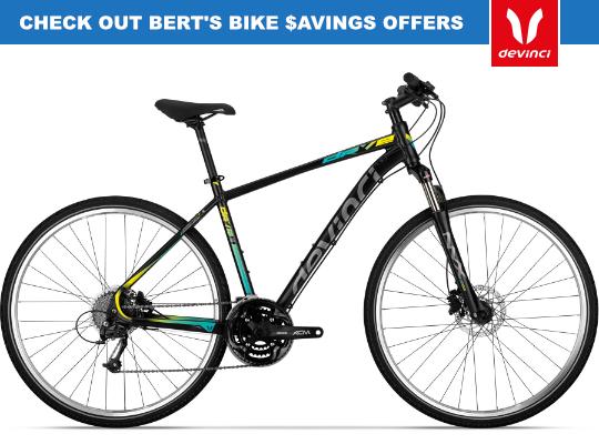 Checkout Bert's Bike Savings Offers