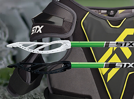 STX Lacrosse equipment available at Bert's Sports Excellence