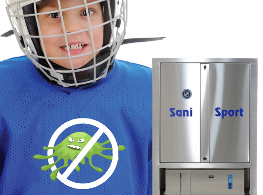 Sani Sport Equipment Cleaning at Bert's Sports Excellence