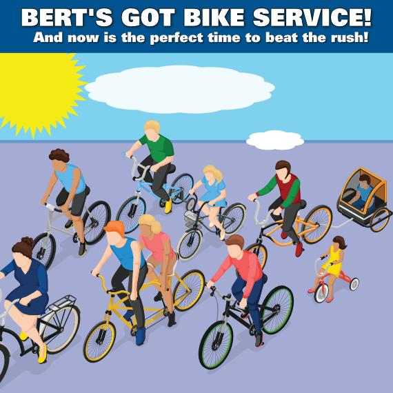 Bike Service - Beat The Rush