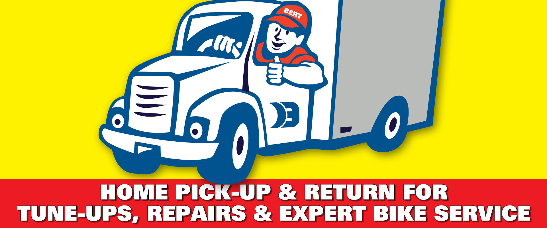 Bike Pick-up & Return Service