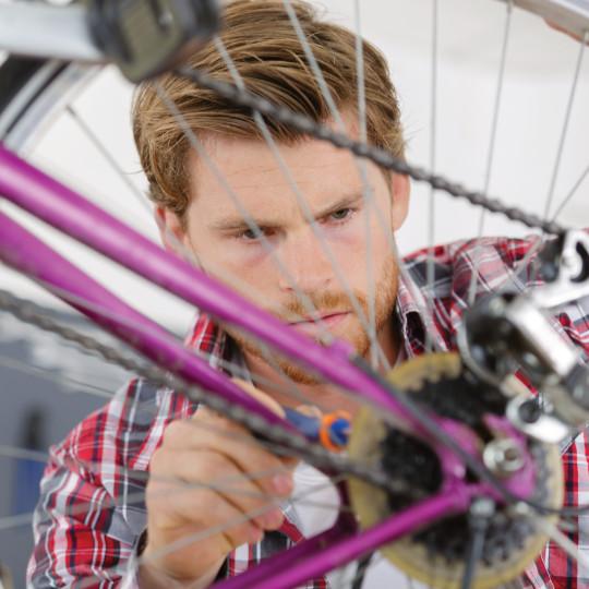 Bike Maintenance & Repair at Bert's Sports