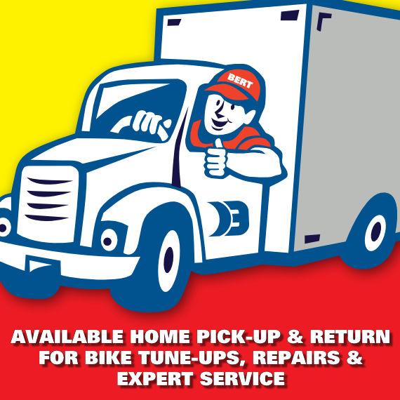 Bike Pickup and Return Service